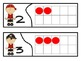 Number Recogniton Ten Frame Match 0-10 Pirate Theme