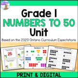 Numbers to 50 Unit (Grade 1) - Distance Learning