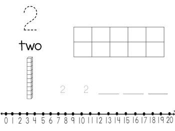 Number Representation 1-20