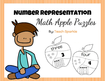 Number Representation Apple Puzzles