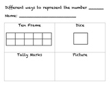 Number Representation - Different ways to express numbers