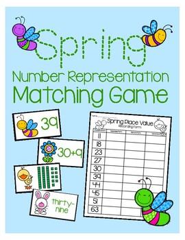Number Representation Matching Game