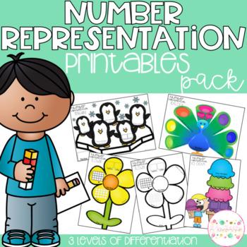 Number Representation Printables