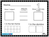 Number Representation Sheets 1-20