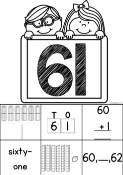 Number Representation Sorting Mats - Numbers to 100
