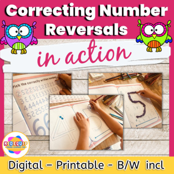 Number Reversals Activity Sheets