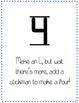 Number Rhyme Posters