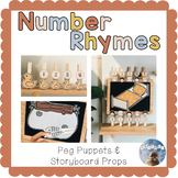 Nursery Rhymes & Counting Songs - Puppets & Props
