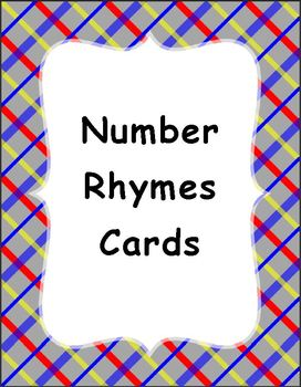 Number Rhymes Cards