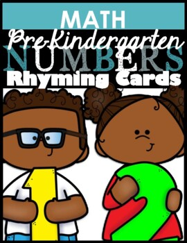 Number Rhyming Cards
