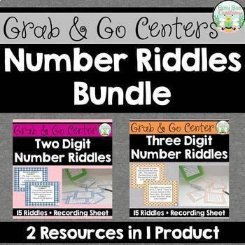 Number Riddles Bundle