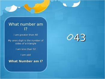 Number Riddles Math Seqencing Game