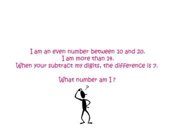 Number Riddles PPT