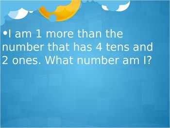 Number Riddles PowerPoint