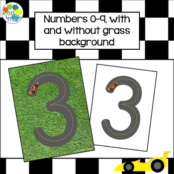 Number Road Mats for Kinesthetic Pre-Writing Practice