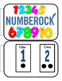 Number Rock book, poster and flash cards to go with Greg a