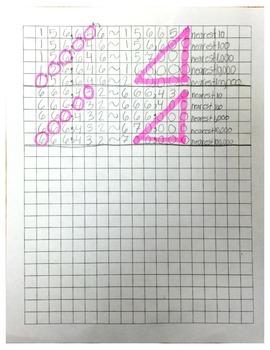 Number Rounding Sheet