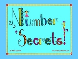 "Number ""SECRETS"" (Auditory Rhymes w/ Visual References) *aligned w/Common Core"