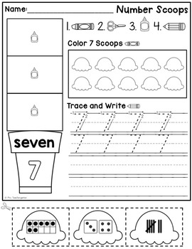 Number Scoops (1-10)