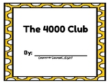 Number Scroll - The 4000 Club