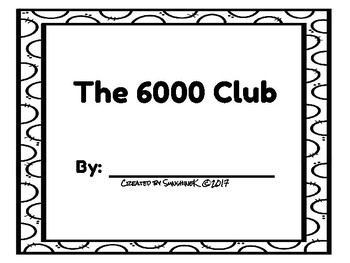 Number Scroll - The 6000 Club