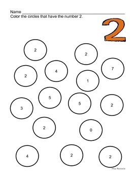 Number Search 0-20