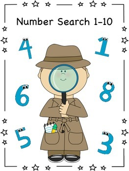 Number Search 1-10