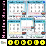 Number Search (150 BOOM card digital resource distance lea