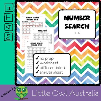 Number Search (ADD 4)