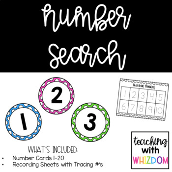 Number Search Activity