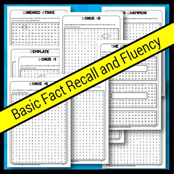 Make 10 20 and 100 Number Puzzles Bundle (3 Books)
