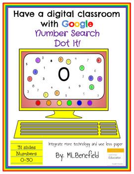 Number Search -Dot It! (in Google: Digital and Interactive)