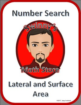 Number Search: Lateral Area and Surface Area