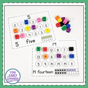 Number Search & Match Activity