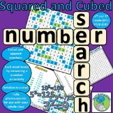 Number Search - Squared and Cubed Numbers (Solve and Discover)