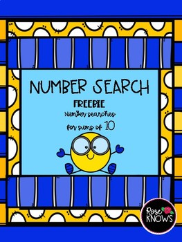 Number Search Sum of 10
