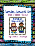 Number Sense (0-10) File Folder Game