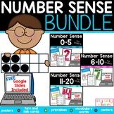 Number Sense Kindergarten Math Bundle, 0-20, Printable and