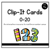 Number Sense 0-20 Clip It Cards