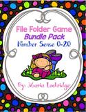 Number Sense (0-20) File Folder Games Bundle Pack