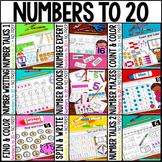 Kindergarten Math: Number Sense for Numbers 1-20 NO PREP BUNDLE