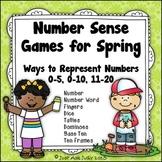 Number Sense Games Spring 0-5, 0-10, 11-20