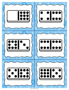 Number Sense Games Winter 0-5, 0-10, 11-20