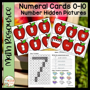 Number Sense #1-10:  Apples