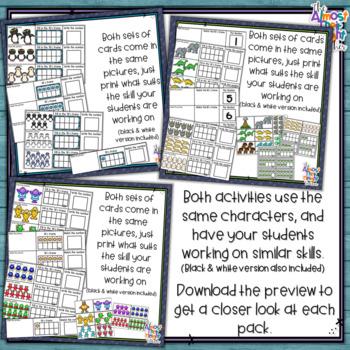 Number Sense 1-10 - BUNDLE - counting, matching, reading & writing numbers 1-10