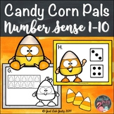 Number Sense Activity 1-10 Candy Corn Pals