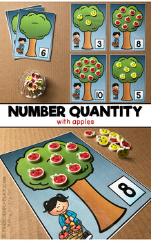 Mathematics - Number Sense 1-10 Center Activities