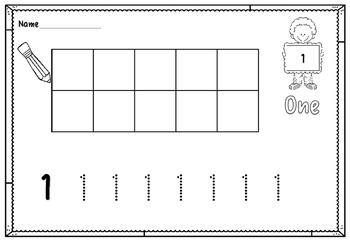 Number Sense 1-10 (PreK - 1)