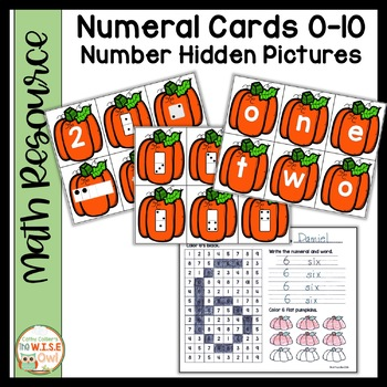 Number Sense #1-10:  Pumpkins