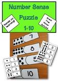 Number Sense 1-10 Puzzle